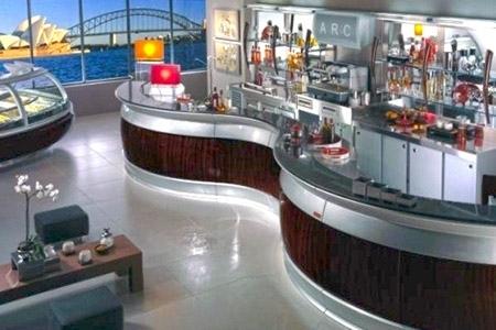 Ciaramella arredamenti per ristorazione a livorno for Arredi bar usati
